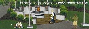 Brighton Area Veteran's Rock Memorial SiteRelocation