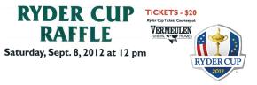 2012 Ryder CupRaffle