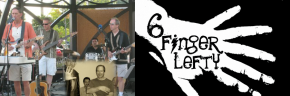 6 Finger Lefty plays the Gazebo Concerts at the Mill Pond2013