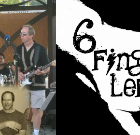 6 Finger Lefty plays the Gazebo Concerts at the Mill Pond 2013