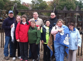 Aktion club cleans up at Imagination Station