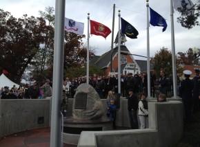 Veteran's Memorial Dedication2013