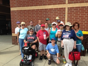 Aktion Club goes to Lugnuts Baseball game!