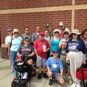Aktion Club goes to Lugnuts Baseballgame!