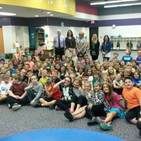Brighton Kiwanis Hands Out Dictionaries to Elementary Students