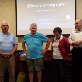 Kiwanis Thanks Long Time Members for theirService