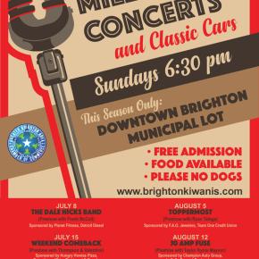 2018 Brighton Kiwanis Millpond ConcertSeries