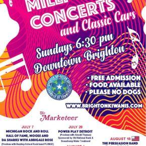 2019 Brighton Kiwanis Millpond ConcertSeries